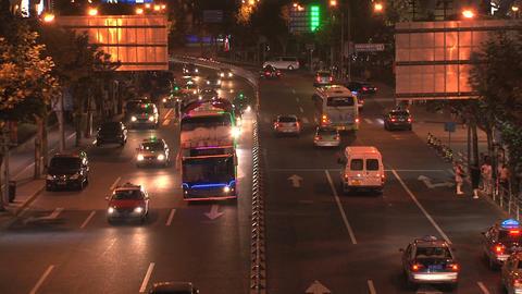 Shanghai traffic Footage