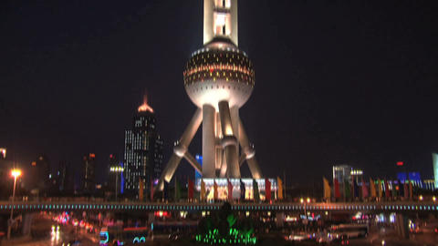 Oriental Pearl Tower Live Action
