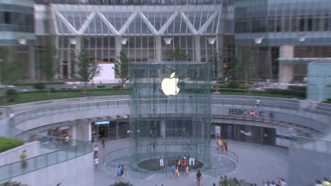 Apple store Shanghai Stock Video Footage