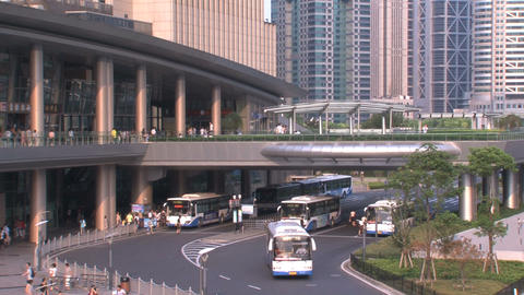 Shanghai Traffic stock footage