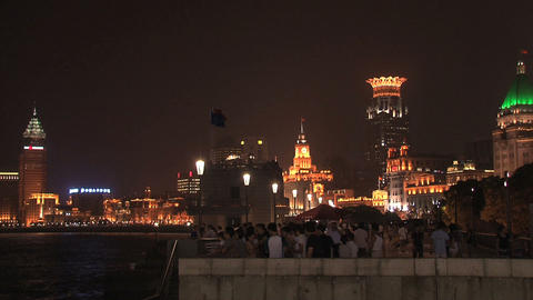 Shanghai the bund Stock Video Footage