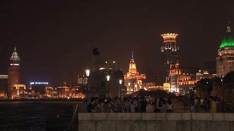 Shanghai the bund Footage
