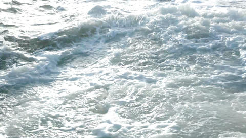 Raging sea Stock Video Footage