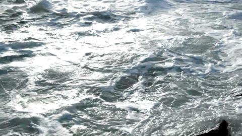 Raging sea Stock Video Footage