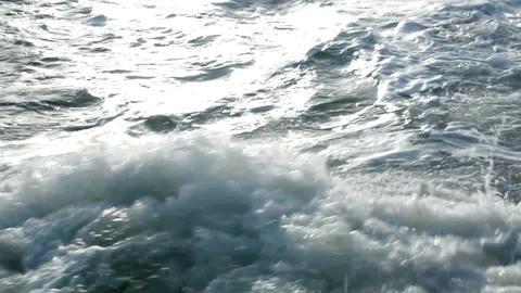 Raging sea Footage