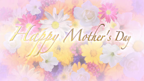 Happy Mother's Day Title and Background Animation