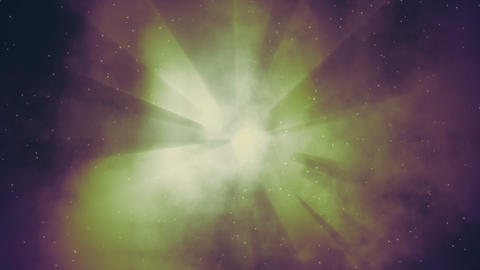Smoky Space Nebula 3 Loop Stock Video Footage