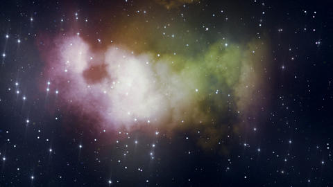 Loopable Space Backdrop 3 Stock Video Footage