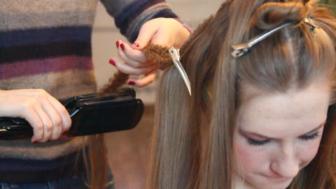 Hairdresser Stock Video Footage