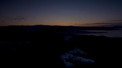 Arctic dawn Stock Video Footage