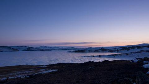 Arctic landscape Footage
