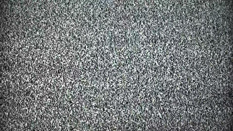 TV snow noise Stock Video Footage