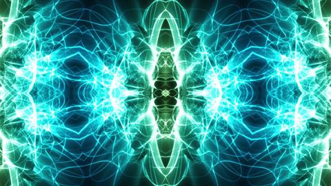 Light Streaks Ornamental Background Animation