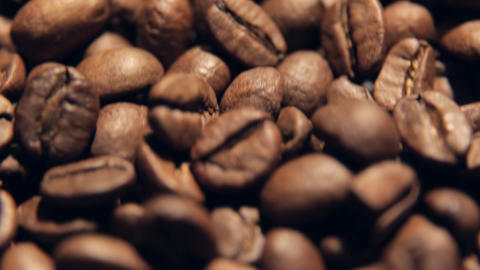 coffee in motion close-up Footage