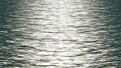 white light reflecting on ocean Stock Video Footage