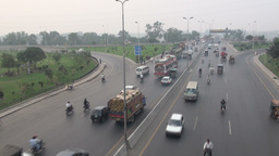 Highway in Lahore Stock Video Footage