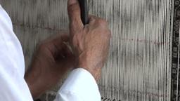 Carpet making Xinjiang Stock Video Footage