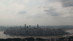 Chongqing skyline timelapse, China Stock Video Footage