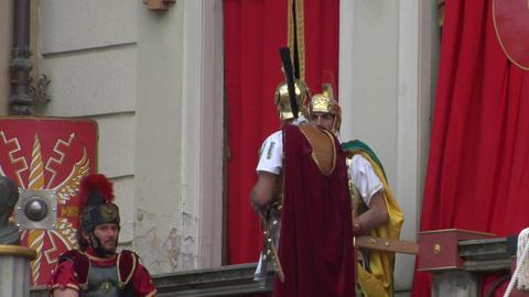 roman legionaries 03 Footage