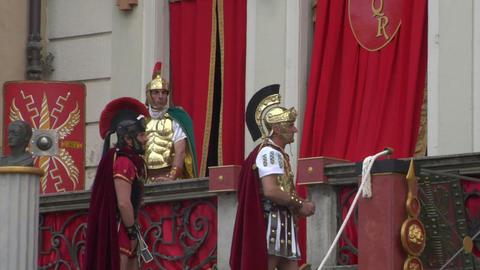 roman legionaries 05 Footage