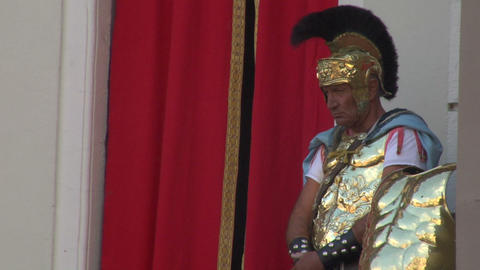 roman legionaries 07 Stock Video Footage