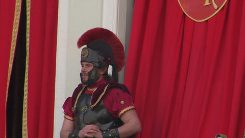 roman procurator 01 Stock Video Footage
