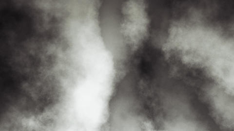 Loopable Dark Smoky Clouds Animation