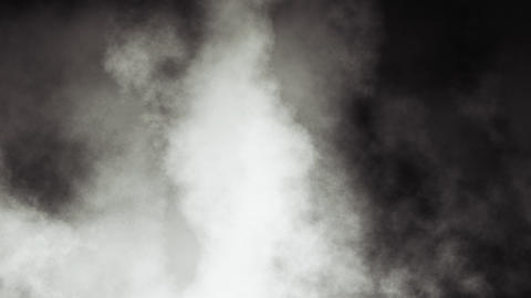 Loopable Dark Smoky Clouds Stock Video Footage