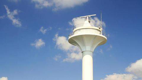 Radar tower Stock Video Footage