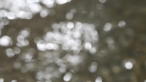 Dancing bokeh lights background Stock Video Footage