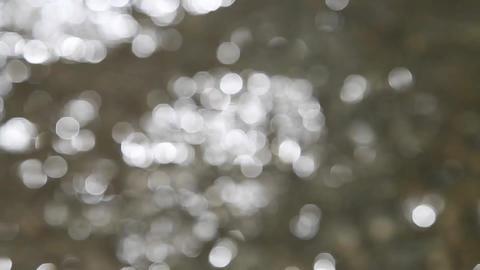 Dancing Bokeh Lights Background stock footage