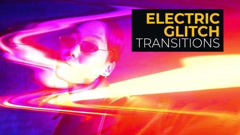 Electric Glitch Transitions