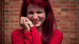 Silly And Adorable Redheaded Teen Girl Live Action