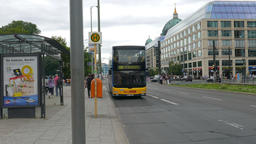 Berlin, Germany. Daily life - street view Footage
