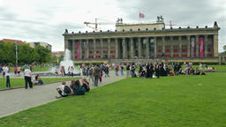The Altes Museum (Old Museum) in Berlin, Germany Footage