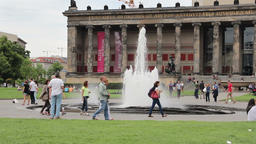 The Altes Museum (Old Museum) in Berlin, Germany Live Action
