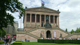The Old National Gallery - Alte Nationalgalerie in Berlin Footage