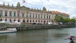 Berlin art market Footage