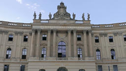 Humboldt University of Berlin, one of Berlin's oldest universities Footage