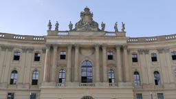 Humboldt University of Berlin, one of Berlin's oldest... Stock Video Footage
