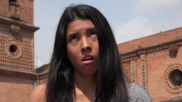 Uncaring Apathetic Teen Girl Footage