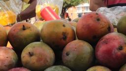 Fresh Ripe Fruit Vendor Live Action