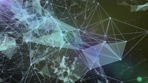 Internet abstract connections - 4K stock loop background Animation