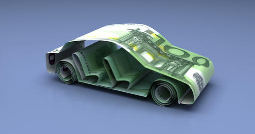 Car Finance with Euro Animation