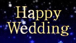 Happy Wedding loop CG動画