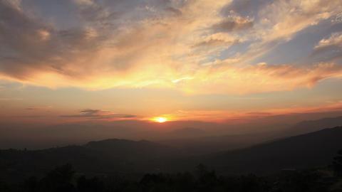 Himalayas Sunset Time Lapse Animation