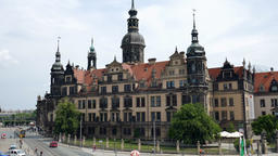 Dresden, Germany. The Royal Palace building Footage