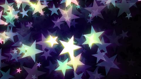 Glowing Stars VJ Loop Animation