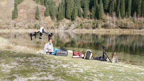 Lake Drone 4K Footage