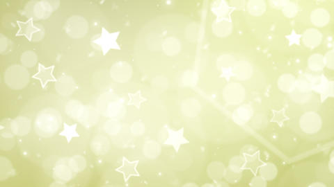 Christmas starry abstract motion background, drifting bokeh Animation